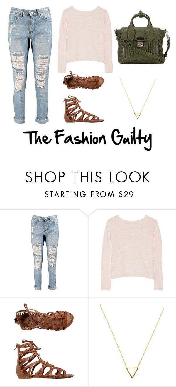 """""""Comfy outfit for school/ college"""" by thefashionguilty on Polyvore featuring Boohoo, Banjo & Matilda, O'Neill, Wanderlust + Co and 3.1 Phillip Lim"""