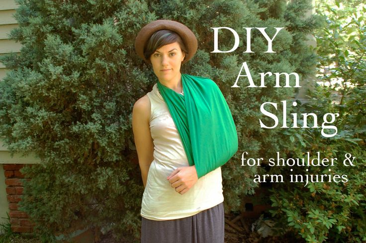 Sally Ann: DIY Arm Sling How to make a sling for an injury