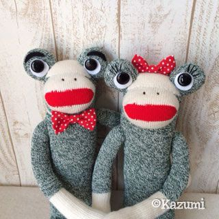 ソックフロッグ/Sock Frog For my sister and her husband♥