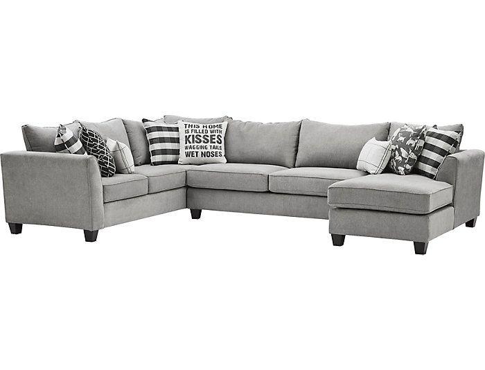 Best Friend 3 Piece Sectional Art Van Home Living Room