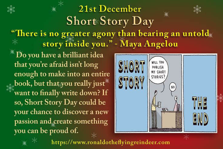 #today 21st December is #ShortStoryDay #CrosswordPuzzleDay #HumbugDay #PhileasFoggWinAWagerDay  You don't have to have written anything before to start writing now. After all, everyone has to start somewhere. All you need to become a writer is a pen and paper, or a computer, or a typewriter if you will―the rest is entirely up to you.  #ShortStory #StoryDay #Story  #storybook #storytime #amwriting #writerslife #writer #writers #author