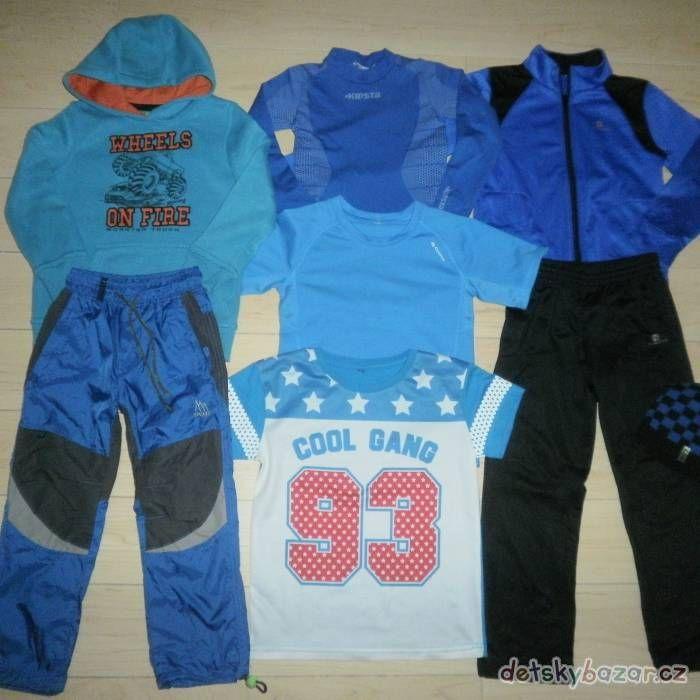 Sportovní oblečení pro chlapce, vel. 110 z bazaru za 300 Kč | Detskybazar.cz