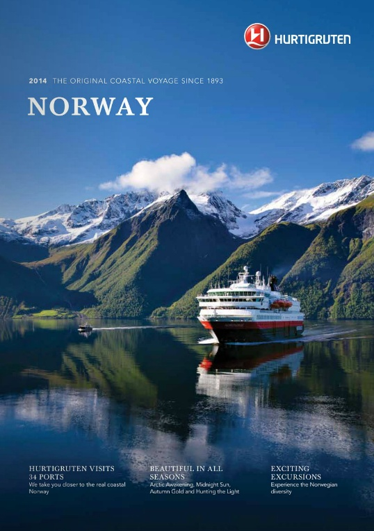 Hurtigruten - Norway 2014 Brochure