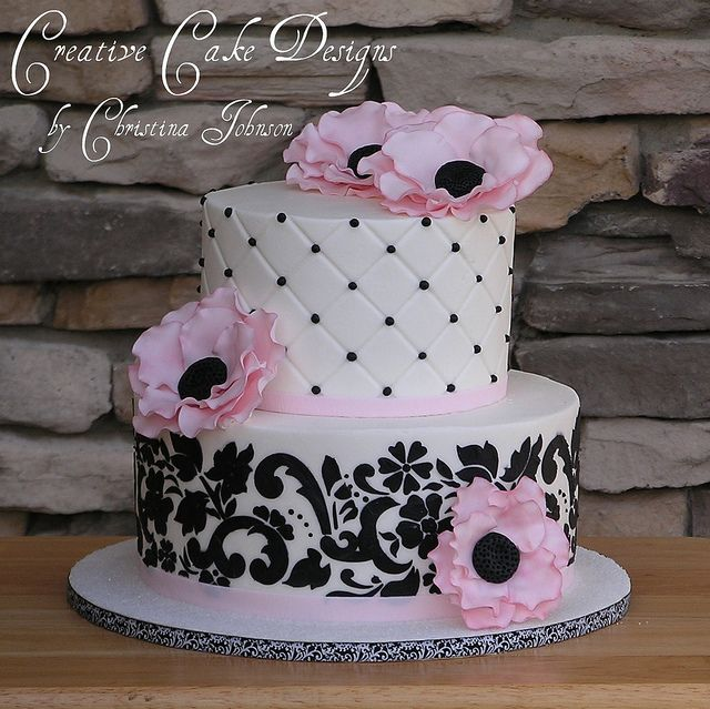 Buttercream Wedding Cakes And Desserts: 1000+ Ideas About Damask Cake On Pinterest