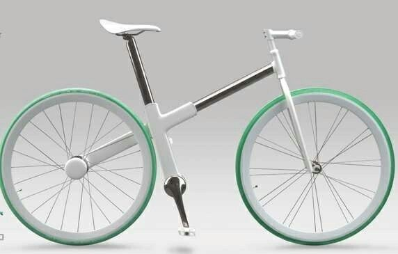 Concept commuter bicycle urban bike
