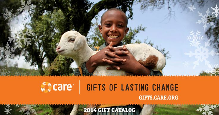 Browse our gift catalog and give a gift in honor of someone. Each gift will help CARE deliver lasting change to some of the world's poorest communities.