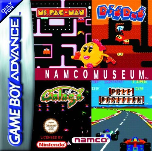 Namco Museum (E)(Independent) Box Art