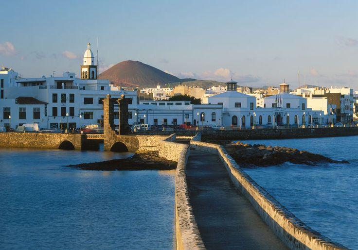 Arrecife la capital de Lanzarote