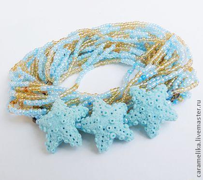 """""""Море и песок"""" - голубой,море,морская звезда,морской стиль,подарок,отпуск"""