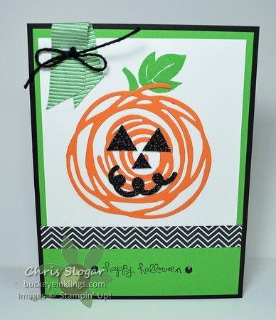 Swirly Scribbles Pumpkin