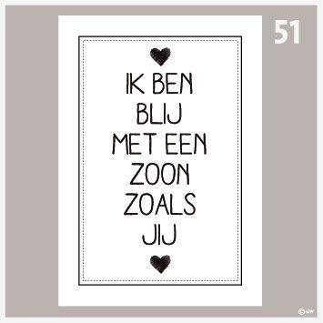Tekstposter Zoon-51