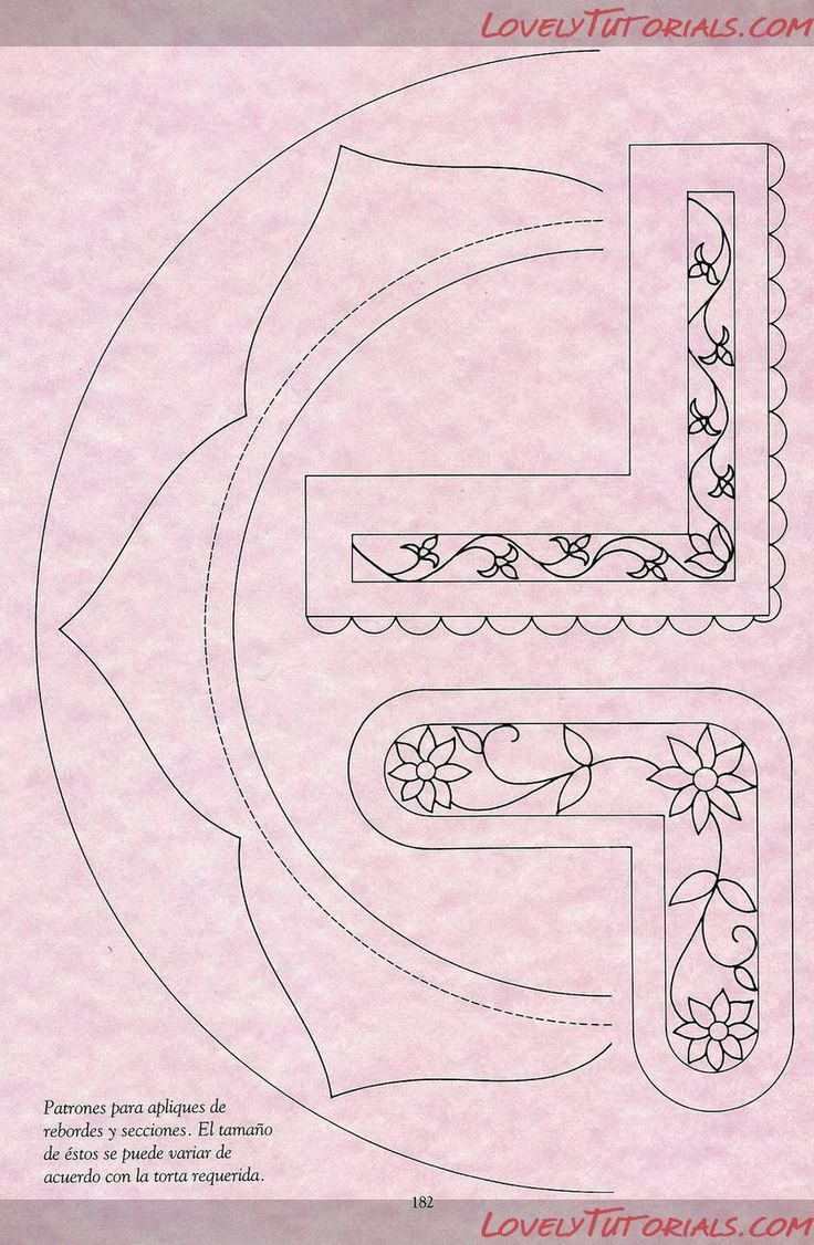 Cake Frosting Design Templates : 314 best ROYAL ICING AND PIPING HOW TO S images on Pinterest