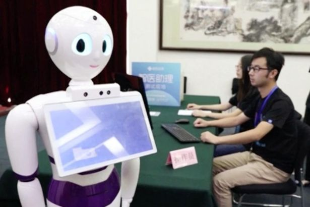 Robot doctors come a step closer as a machine passes medical exams with flying colours    Hopefully the cost of medical care will go down, too!