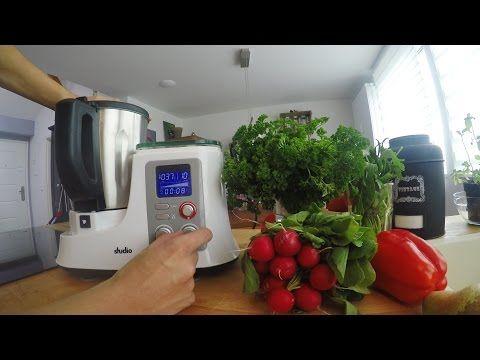 Funktionen der Küchenmaschine Aldi Süd - studio - Mixer | KM2014DG (Geschwindigkeit, Timer, Waage) - YouTube