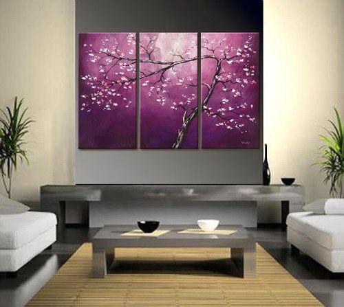 Beautiful Purple Wall Art