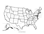 Best Maps Images On Pinterest Printable Maps Map Projects - Fill in the us map