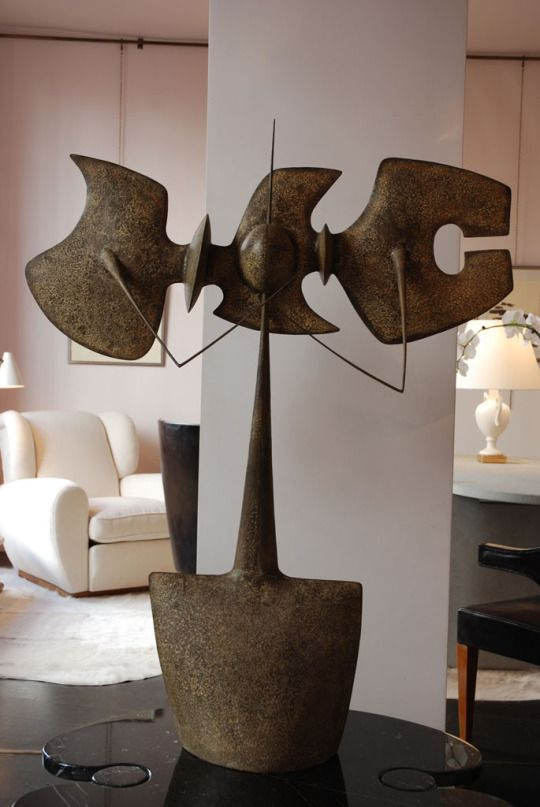 PHILIPPE HIQUILY: La Tenaille, 1960. Material Wrought Iron. Eros Table By.  Abstract SculptureSculpture ArtAbstract ArtContemporary ...