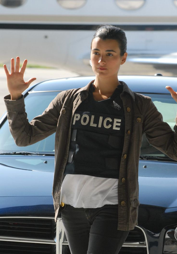 "NCIS - Season 3 Episode 22 - ""Jeopardy"" Ziva may not be armed, but she is armed."