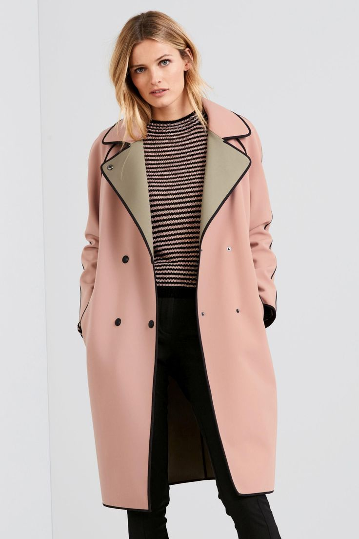 Buy Pink Bonded Coat online today at Next: United States of America