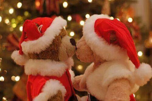 Julebamse kys!