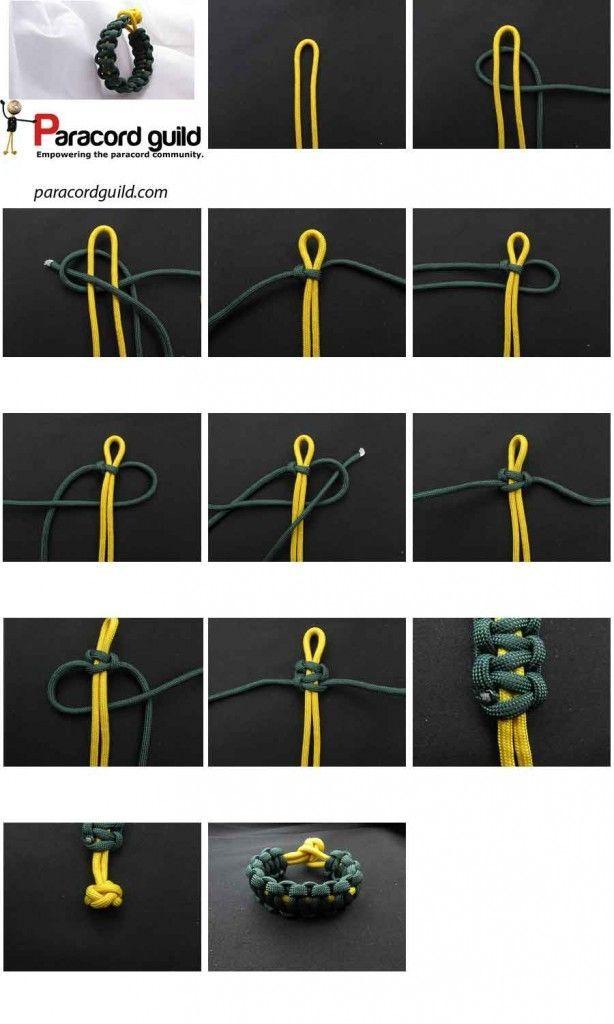 Cobra Paracord Bracelet Instructions With Images Paracord