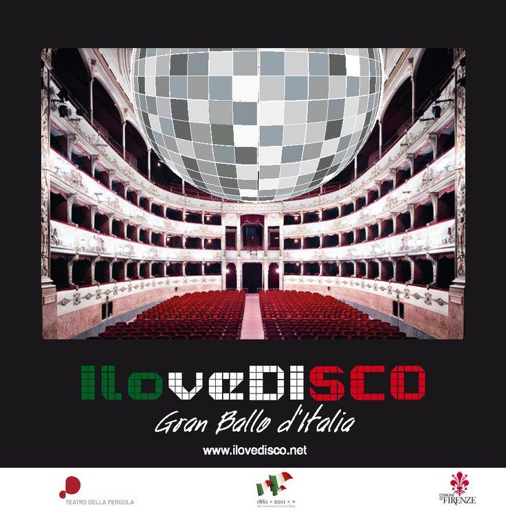 I Love Disco Gran Ballo d'Italia, 11 Novembre 2011. Dopo 150 anni dall'Unità d'Italia, a Firenze si festeggia un grande paese, con bella musica, artisti, eleganza e tanto divertimento.