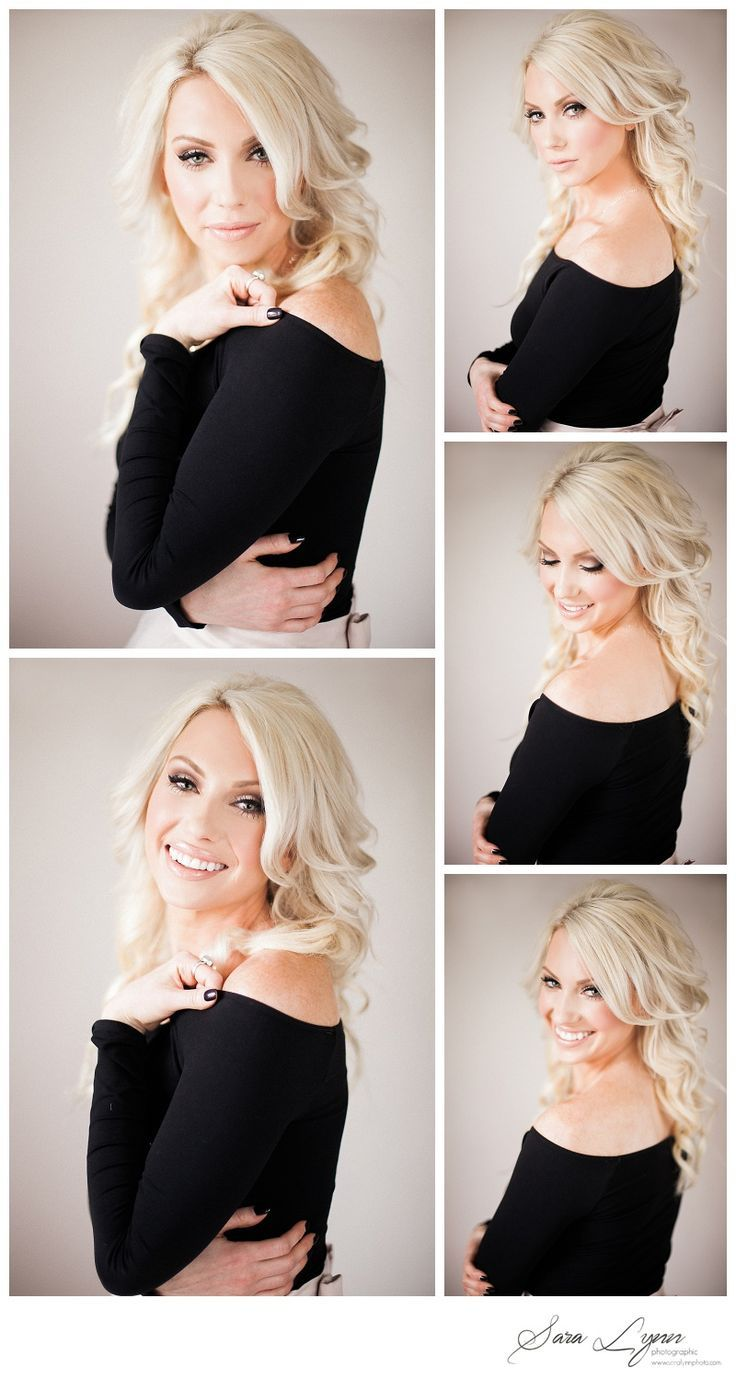 Professional Beauty Head Shots - Portrait Ideas - Poses - Headshots