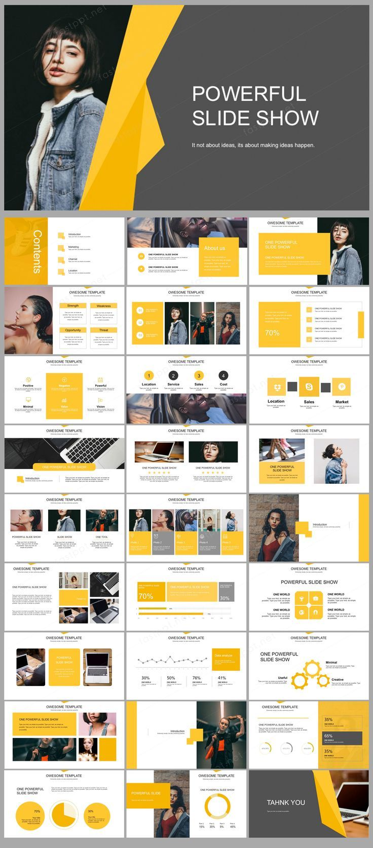 Yellow Business Analyze Presentation Powerpoint Original And High Quality Powerpoint Templates Powerpoint Presentation Design Powerpoint Design Templates Powerpoint Design