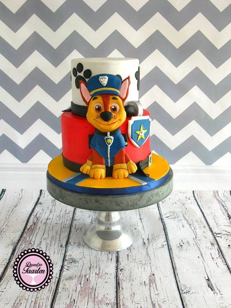 17 Best Images About Paw Patrol Cake On Pinterest Paw