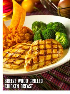 Breeze Wood Grilled Chicken Breast.... Bahama Breeze
