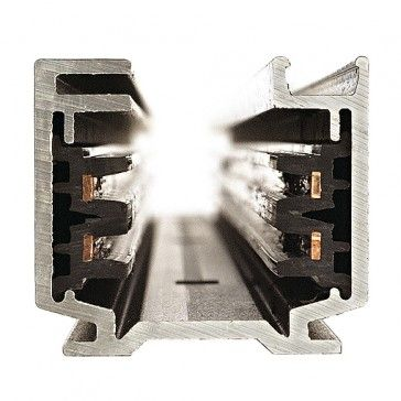 EUTRAC 3-Phasen Stromschiene 1m, schwarz / LED24-LED Shop