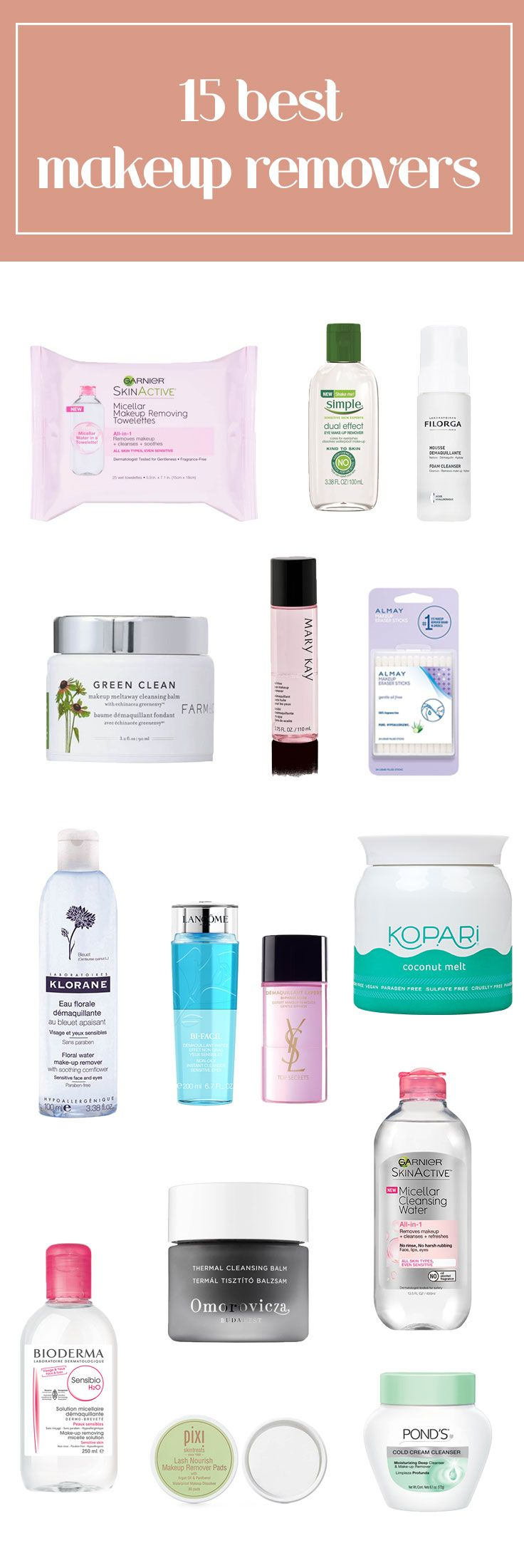 These make up removes for your face and eyes will improve your skin care routine.