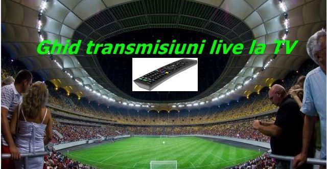Fotbal: transmisiuni live-weekend 21-23 Octombrie