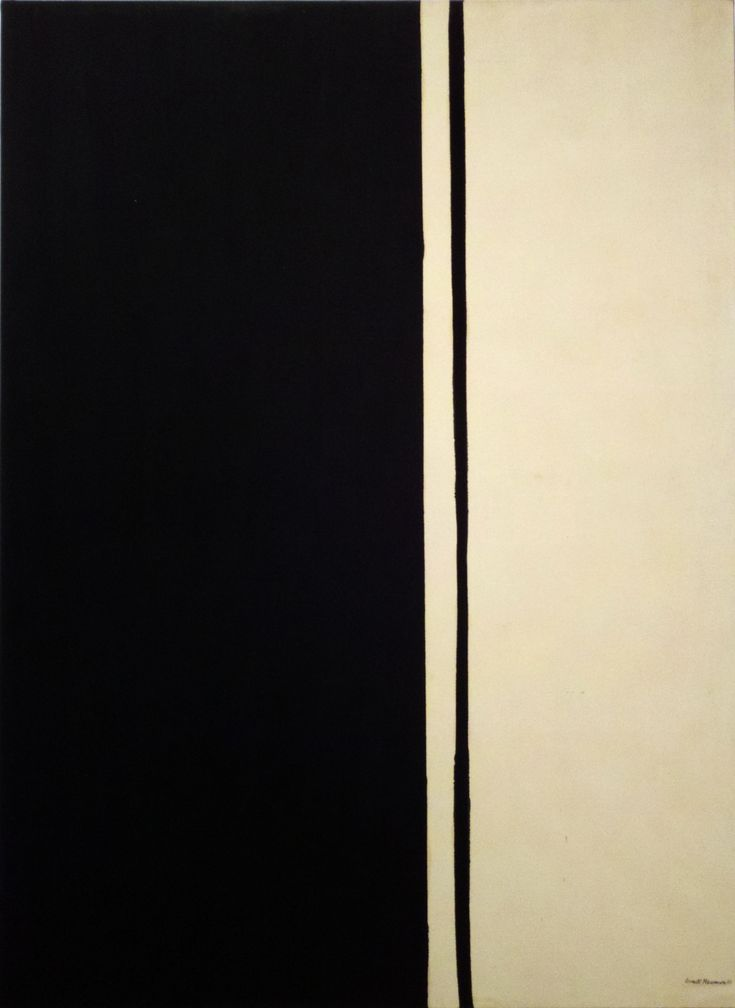 Expresionismo abstracto_Barnett Newman