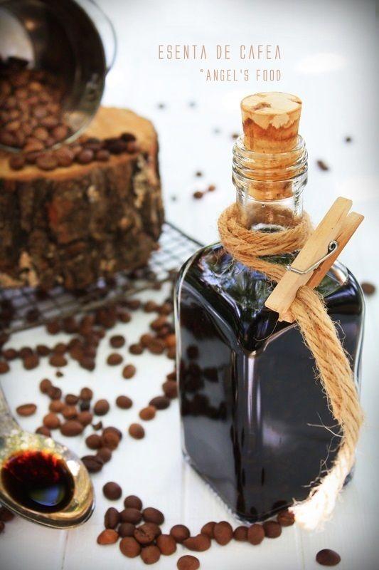 Esenta de cafea facuta in casa~Homemade coffee essence
