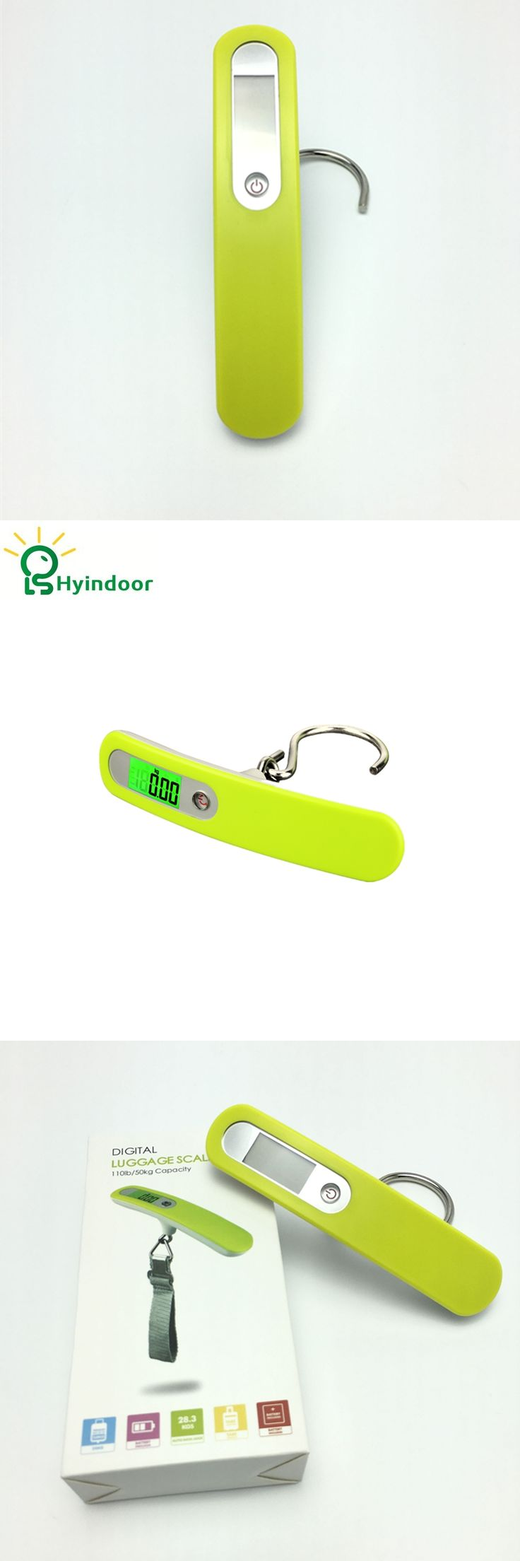 50kg/10g Luggage Scale LCD Electronic Pocket Hanging Scale Portable Electronic Travel Suitcase Bag Weighing balance scale,Hook