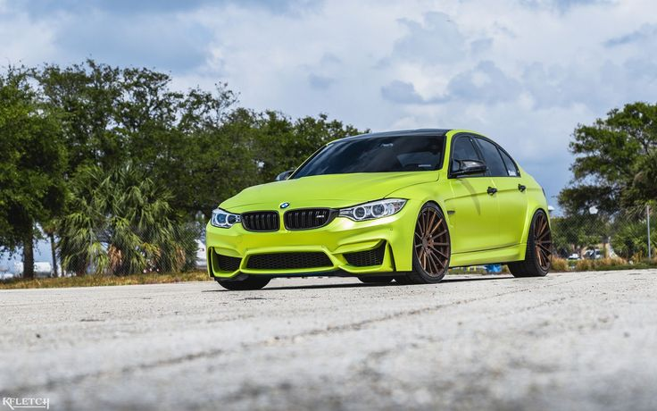 What Do You Think About This Satin Lime Green BMW M3? BMW M3 cars have lost a little bit of their fame, as there are countless sports cars and hypercars unveiled every single day. But, what if you change the wrap and add some exclusive wheels? This is what an M3 owner did with his car and here is the result. The wrap of the car is calledSatin...