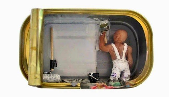 Italy-based artist Nathalie Alony has created an incredible series of miniature dioramas, illustrating life inside an apartment. What makes these dioramas so special is that each one has been created inside a sardine can, which is kind of fitting, given Alony's statement about the work: 'All these different lives, different stories, different histories and futures, […]