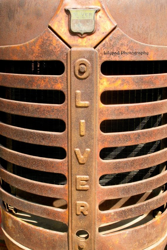Oliver Tractor Grill  Color  Pop  Stock by lilypadphotography, $3.50