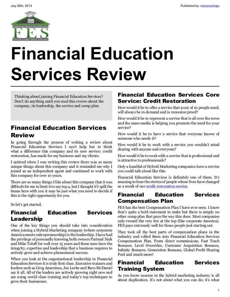 18 best FES Credit Restoration images on Pinterest Finance - financial power of attorney form
