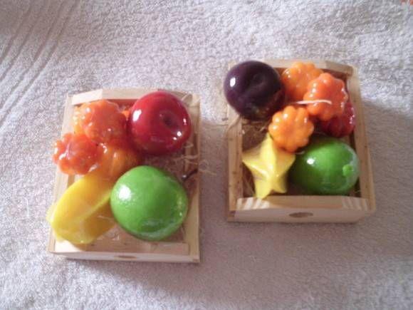 sabonete artesanal frutas