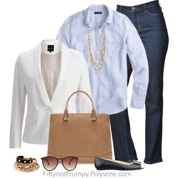 Inès de la Fressange Inspired, created by fiftynotfrumpy on Polyvore