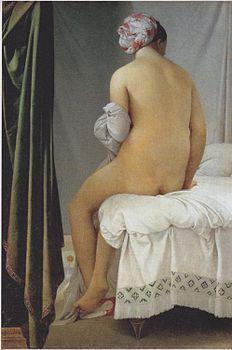 La bagnante di Valpinçon, 1808, olio su tela, Louvre, Parigi