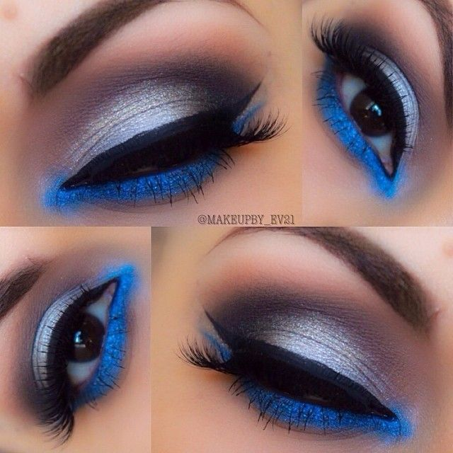 Blues @makeupby_ev21