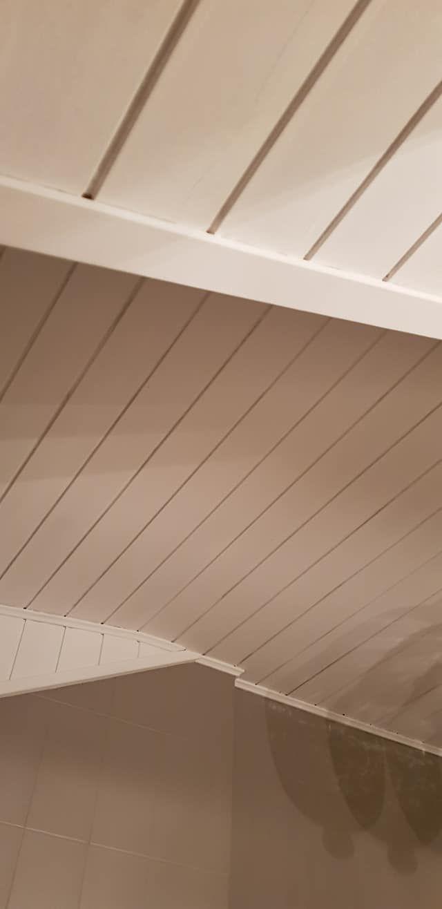Holzdecke Streichen Mit Kreidefarbe Misspompadour Holzdecke Streichen Holzdecke Holzdecke Weiss