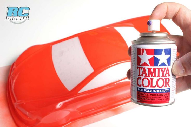 Tamiya Polycarbonate Spray Paint