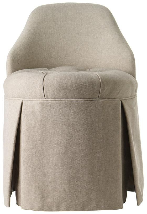 Ella Vanity Stool - Vanity Stools - Bath | HomeDecorators.com