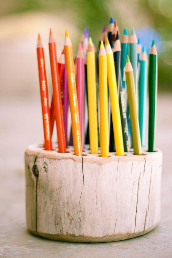 blyantholder i tre Funnet på strawberry-chic.blogspot.com