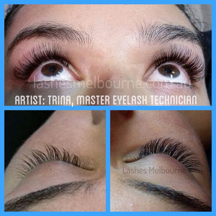 3D Eyelash Extensions; Russian VolumeEyelash Extensions