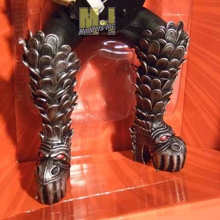 Gene Simmons' boots are the absolute coolest thing ever made for anybody's feet.